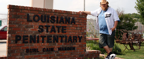 Louis at the Louisiana State Penitentiary