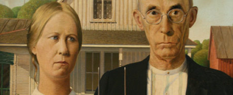 American Gothic. Photographed at the Art Institute of Chicago.