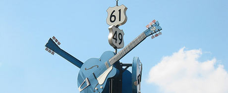 Crossroads, Clarksdale, courtesy of Donna/luv2run