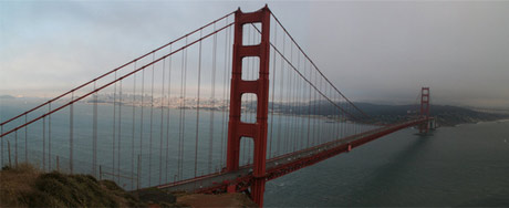 The Golden Gate Bridge, courtesy of James/Halonfury