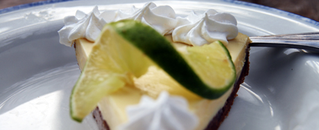 A blurry taste of Key Lime Pie