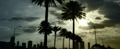 Entering Miami