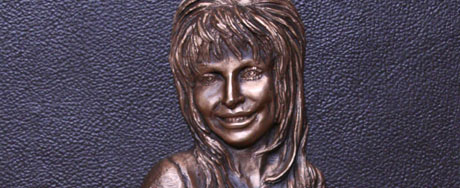 Weird version of Dolly Parton at the Country Hall of Fame