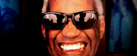 Ray Charles exhibit at The Country Music Hall of Fame and Museum
