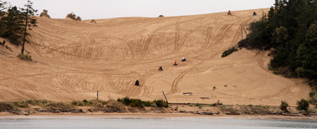 ATV/Dune buggies at the Oregon Dunes National Recreation Area
