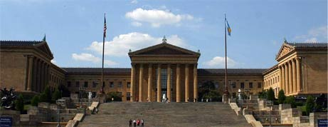 The Rocky Steps in front of the Philadelphia Museum of Art, courtesy of su1droot/Ben